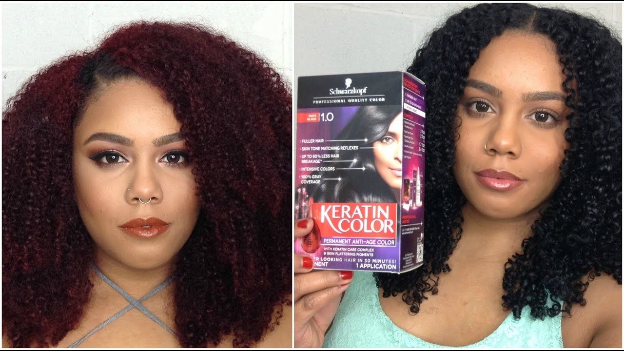 That Real Review Coloring Natural Hair Red To Black Jasminlee515