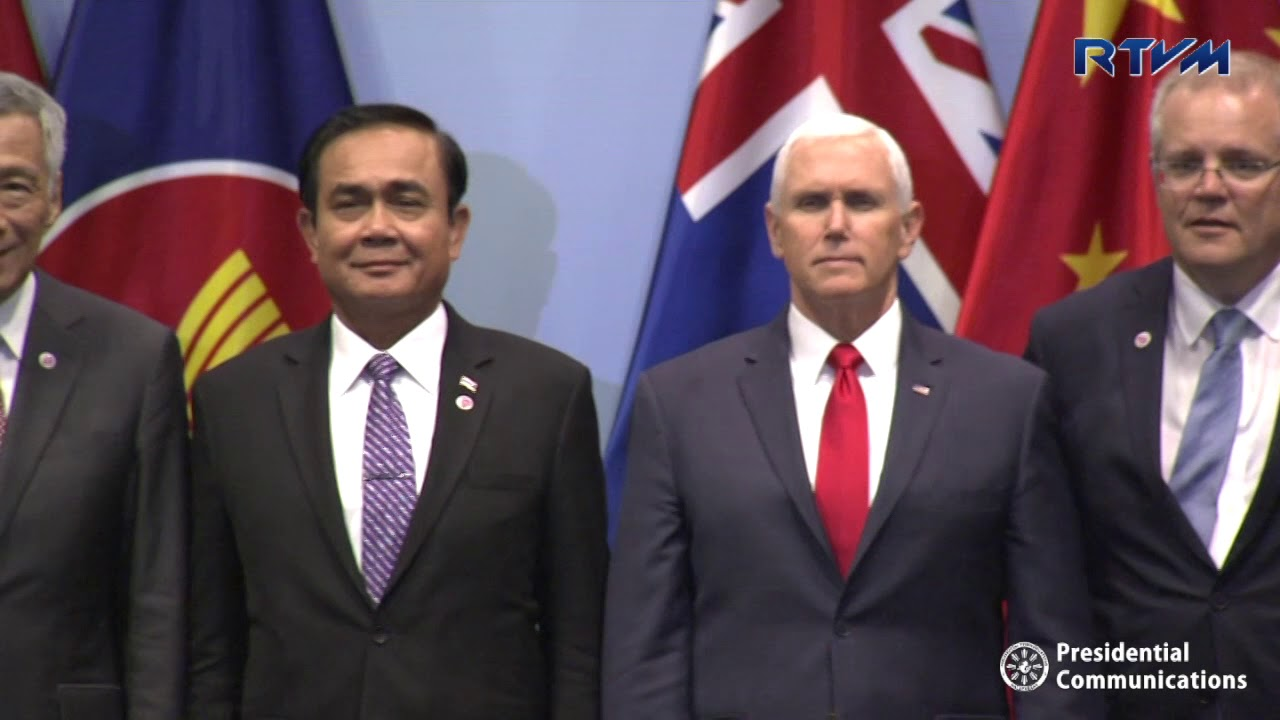 13th East Asia Summit Plenary 11/15/2018 - YouTube