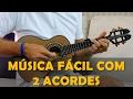 Música Fácil para Cavaquinho com 2 Acordes | Nosso Grito - Fundo de Quintal | Prof Damiro