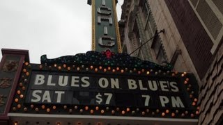 """Blues on Blues"" with Root Doctor @ Michigan Theatre, Jackson Michigan USA"