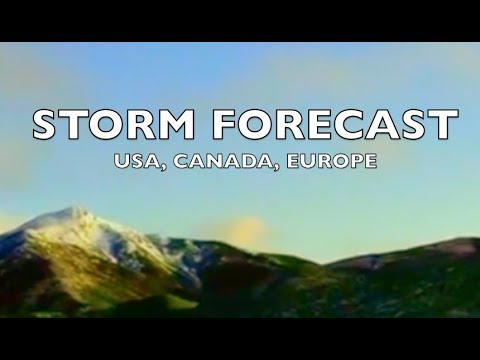 Storm Forecast | USA, Canada, Europe [Apr.23-30]