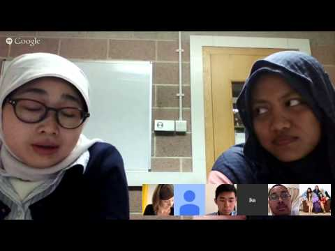 Google Hangout Newcastle w/ Overseas Student Living