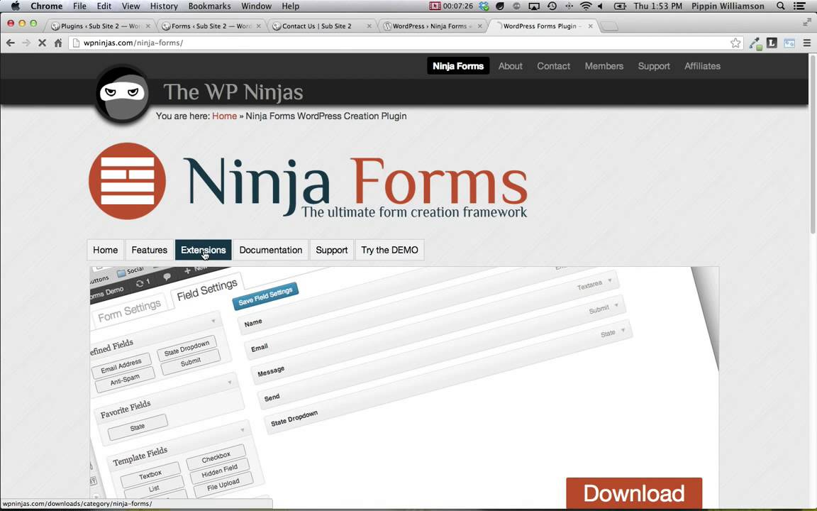 Ninja Forms Plugin Review
