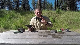Concealed carry:   .380 ACP ammo selection.
