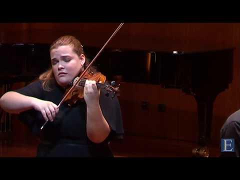 Ellinor D'Melon (17) -  Lalo Symphony Espagnole 3º mov