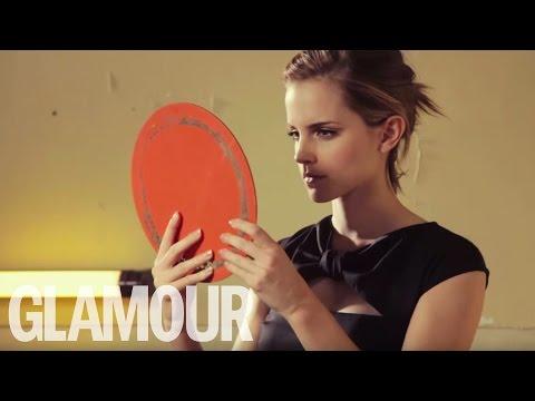 Emma Watson Cover Shoot for Glamour Magazine | Glamour UK