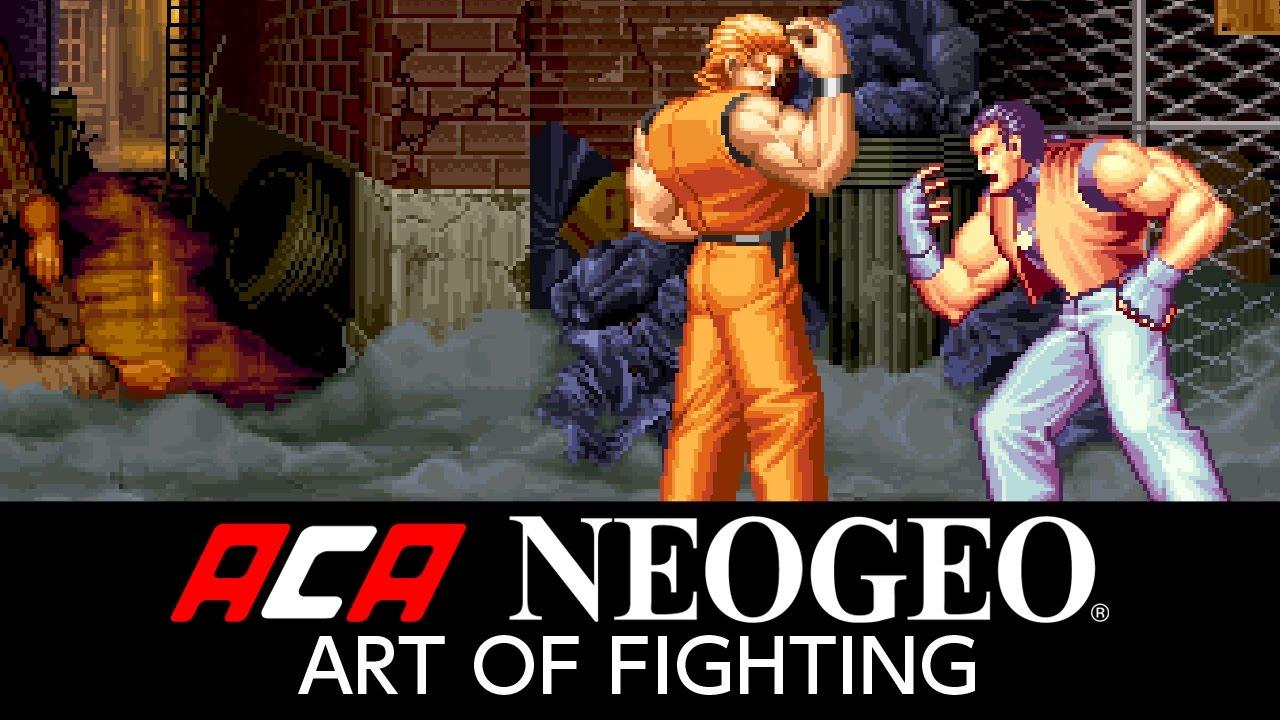 Aca Neogeo Art Of Fighting Youtube