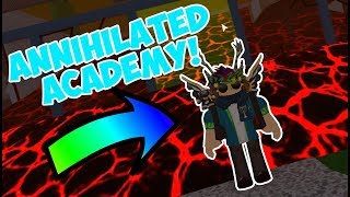 COMPLETING ANNIHILATED ACADEMY!!! | Flood Escape 2 on Roblox #15