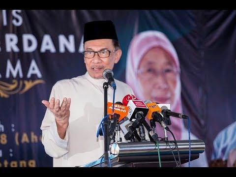 Anwar Ibrahim: Majlis Ifthar Perdana Di Pandan