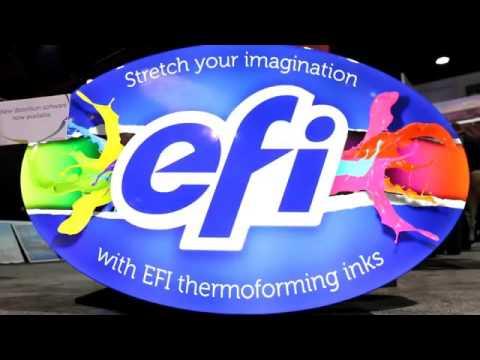 EFI Thermoforming Printing Application