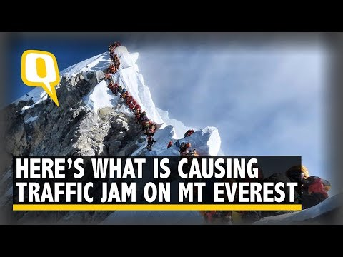 Traffic On Mt Everest: Here's What is Causing The Jam on the Mountain | The Quint