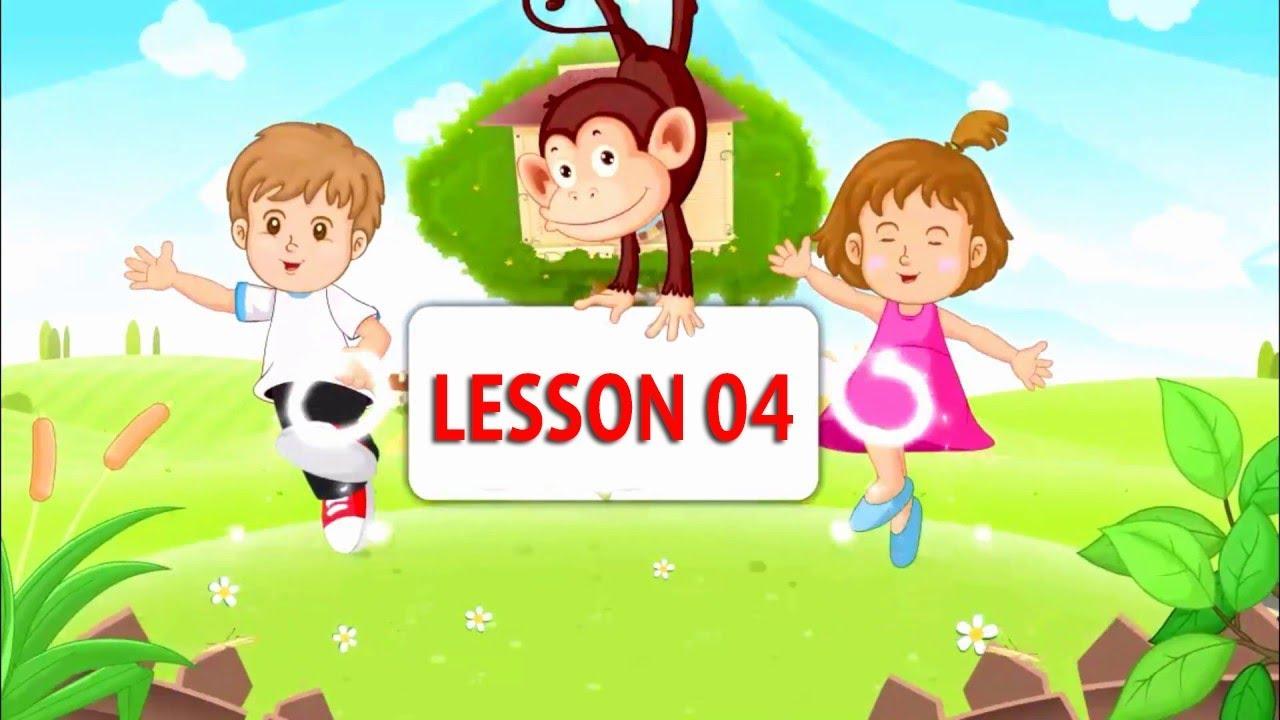 Tiếng Anh Cho Bé Bài 4 | Monkey Junior Lesson 4