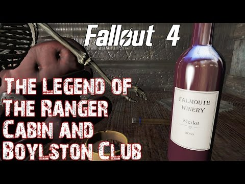 Fallout 4- The Legend of the Ranger Cabin and Boylston Club