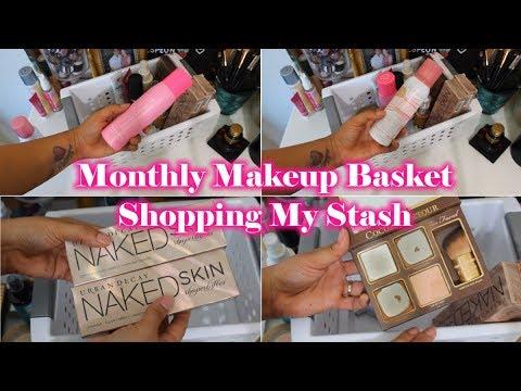 Shop My Stash September 2019 Makeup Basket