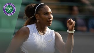 Serena Williams vs Kaja Juvan Wimbledon 2019 second round highlights