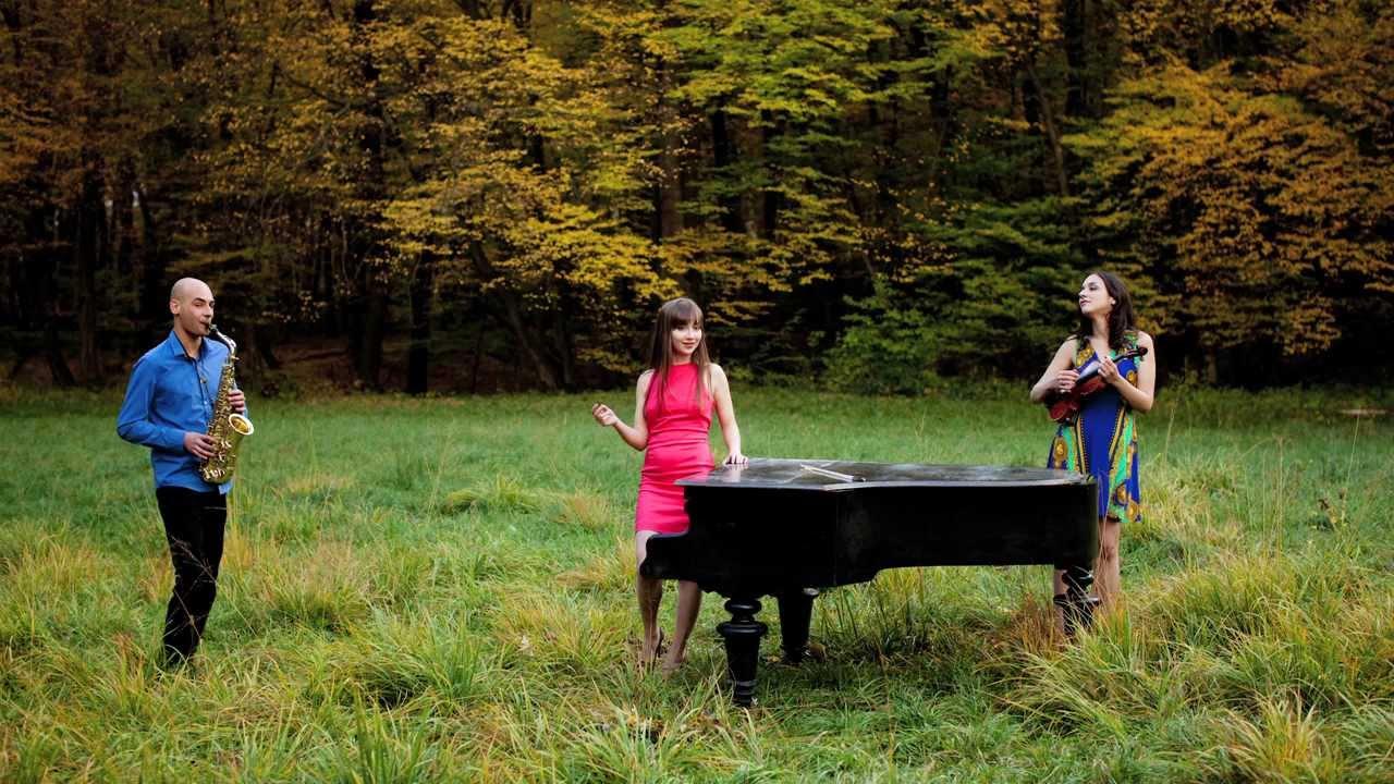 """Trio KlaViS plays Marc Eychenne """"Cantilene et Danse"""" Part 1 - Cantilene"""