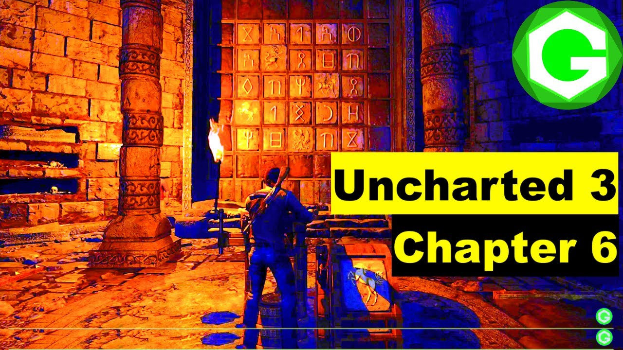How To Solve Knights Guardians Puzzle Tiles Puzzle In Uncharted