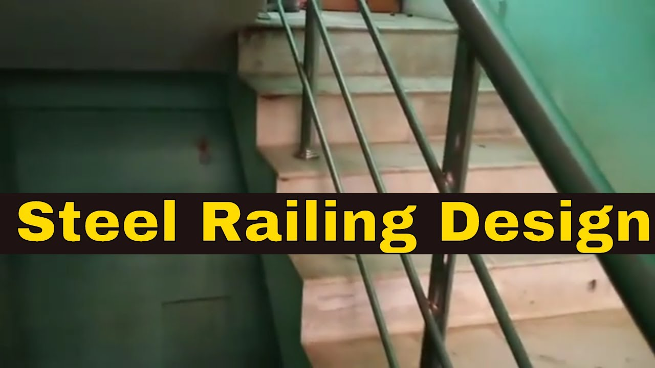 Steel Railing Design Steel Railing Design For Roof Md Khan Stainless Ss Railing Youtube