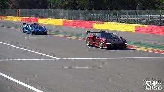 Chasing a McLaren Senna in My Senna!