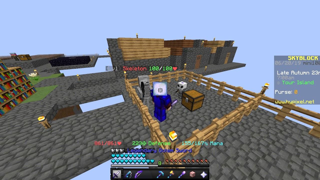 Bug] Golem Sword | Hypixel - Minecraft Server and Maps