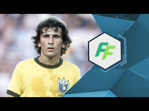 Brazil Legend ZICO - FIFA FOOTBALL EXCLUSIVE