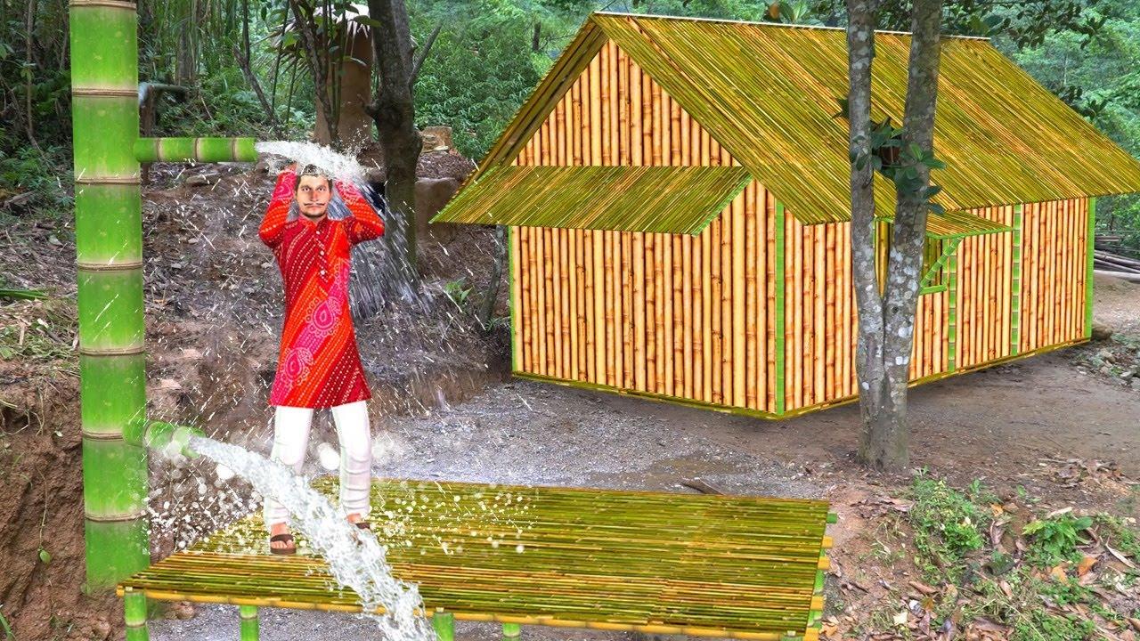 आदिवासी बाँस की बौछार Primitive Tribe Bamboo Shower Comedy Video हिंदी कहानिया Hindi Kahaniya Comedy