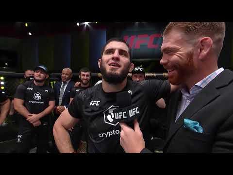 Ислам Махачев - Слова после боя UFC Вегас 31