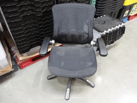 Mesh Office Chair with Adjustable Arms YouTube