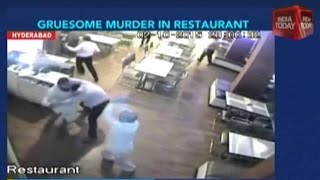Up South: Grusome Murder Of Man In Hyderabad Restaurant Caught On Camera