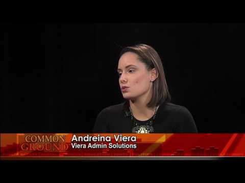 Common Ground Feat Adreina Viera of Viera Admin Solutions