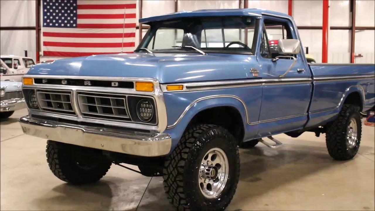 1977 Ford F250 Blue2