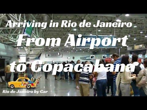 🌄 Rio de Janeiro | from Airport to Copacabana beach | #1
