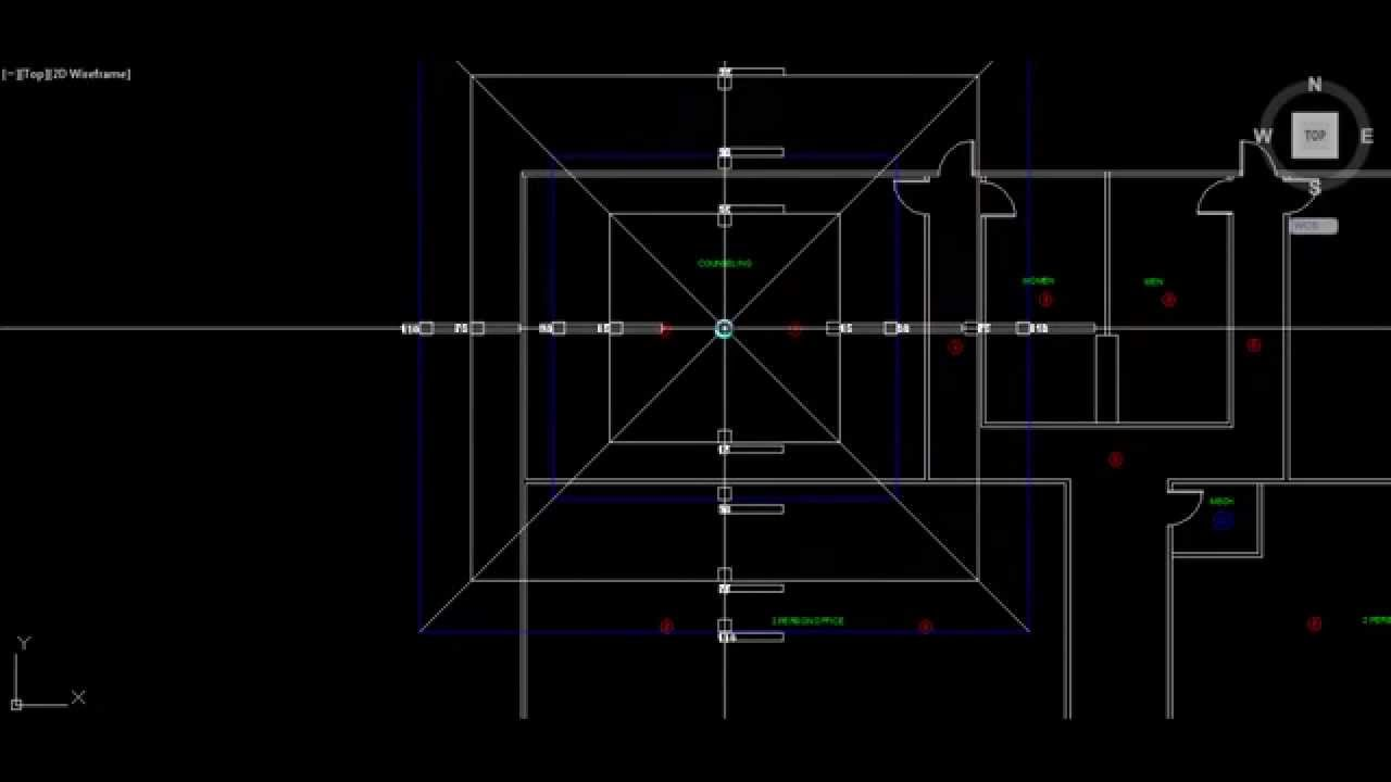 Fire alarm Design For Autocad