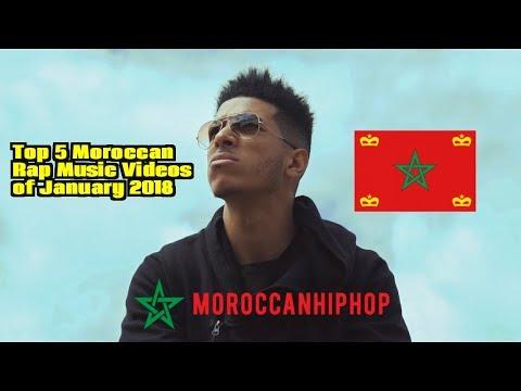 Top 5 Moroccan Rap Music Videos of January 2018 I Hip Hop Morocco