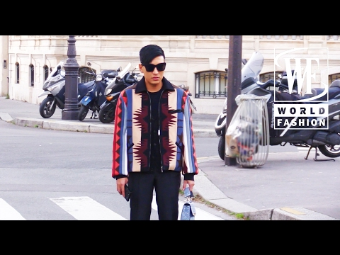 Street Style Paris Fashion Week Part I Youtube