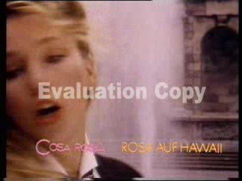 Cosa Rosa  - Rosa Auf Hawaii