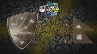 pge t10 world cup 2017 australia v nepal group 2 match 11