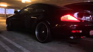 BMW 645ci Muffler Delete and Straight Pipe
