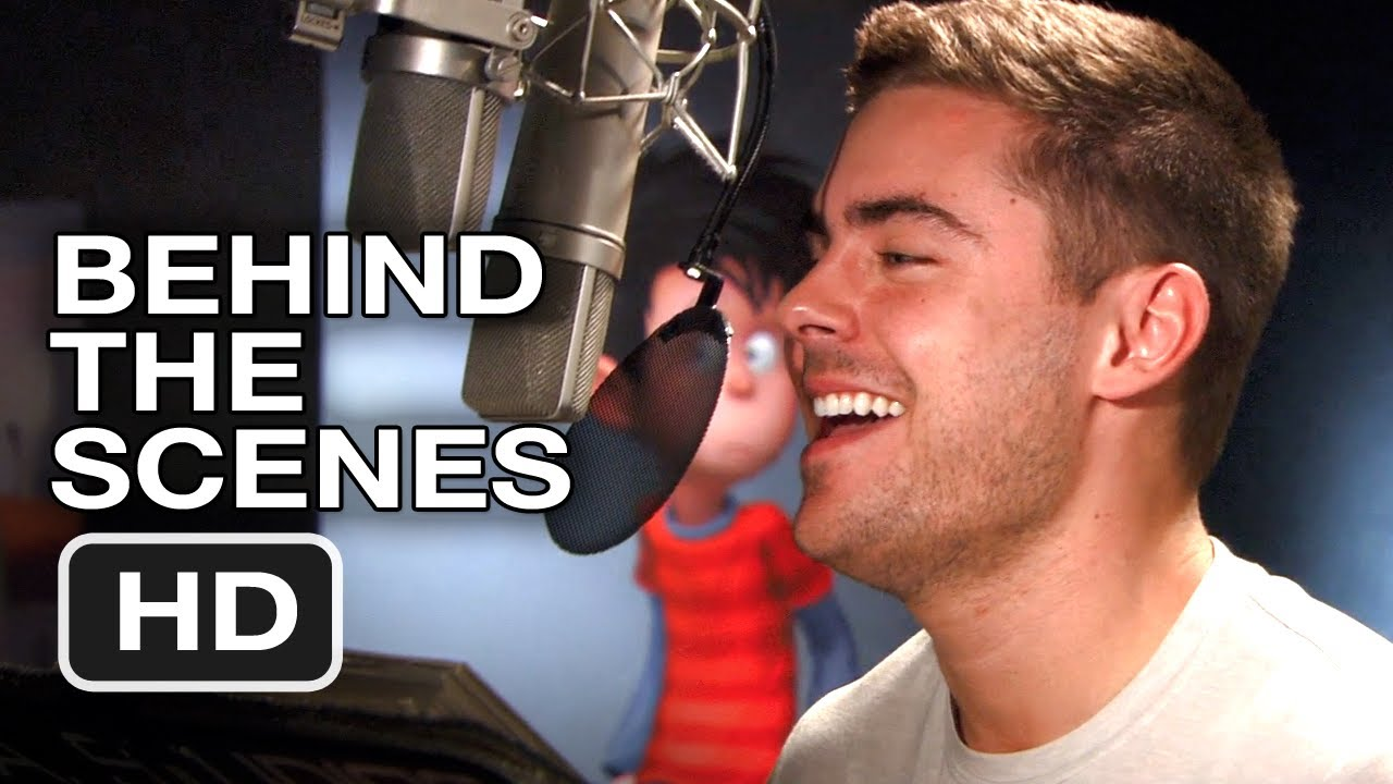 The Lorax Cast >> Dr Seuss The Lorax Behind The Scenes 1 Zach Efron 2012 Hd