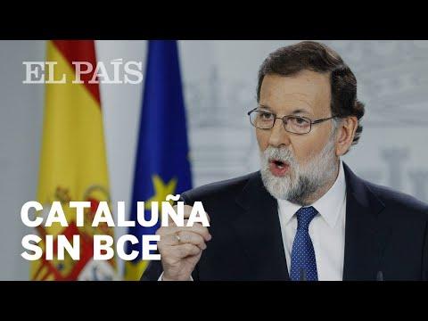 """Rajoy: """"Si Cataluña se independizara, la facilidades del BCE desaparecerían""""   Economía"""