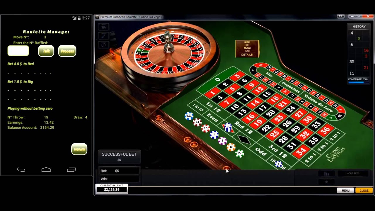 Methode roulette casino martingale