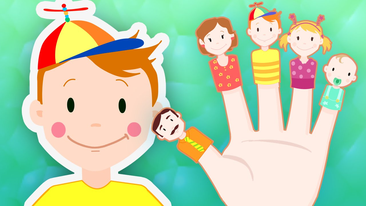 finger family daddy finger song for children kids song with