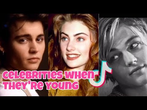 Celebrities When They Were Younger Tiktok Video Compilation 2020