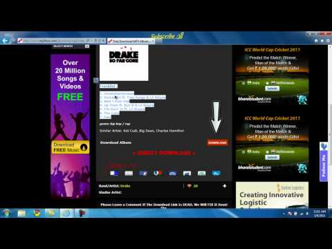 How to get Full Music Albums For Free!