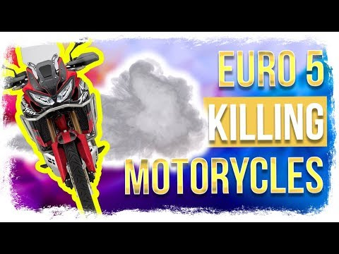 EURO 5 emission standard is TOUGH for new motorcycles