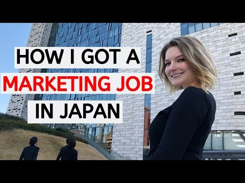 JAPAN WORK VISA! How I Got A Job In Marketing In Tokyo || How To Japan Episode 1