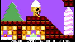 Castle of Illusion Starring Mickey Mouse Sega Master System no death 60fps