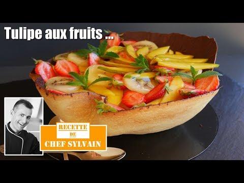 tulipe-aux-fruits---recette-gourmande-par-chef-sylvain-!