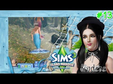 The Sims 3 Island Paradise #13 เจ้าหญิงเงือกน้อย เอลซ่า Frozen