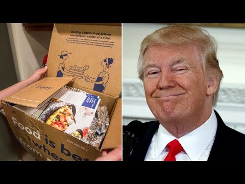 Trump To Cut Half Of Food Stamps (SNAP) And Replace Them Wit